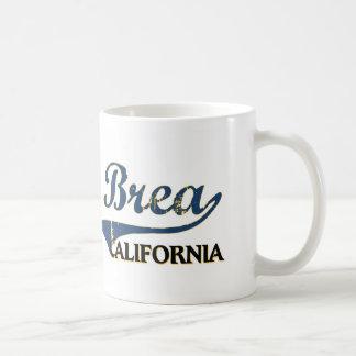 Brea California City Classic Basic White Mug
