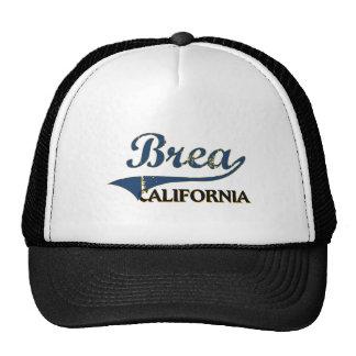 Brea California City Classic Cap