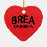 Brea California Ornaments