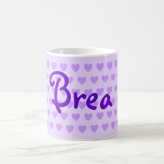 Brea in Purple Coffee Mug