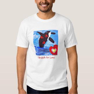 Breach for Luv Orca t shirt