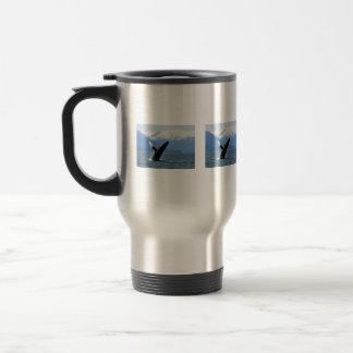 Breaching Humpback Stainless Steel Travel Mug