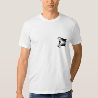BREACHING ORCA Painting T-shirt