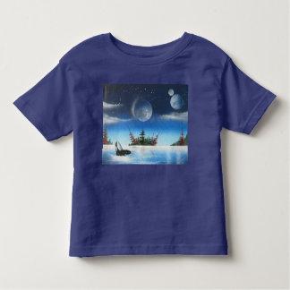 Breaching Whale kids T-shirt