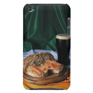 Bread and a glass of beer lying on the Irish Barely There iPod Cover