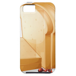 Bread and ants tough iPhone 5 case