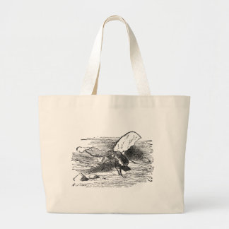 Bread and Butter Fly Jumbo Tote Bag