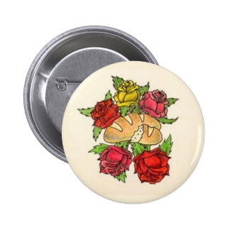 Bread and Roses button
