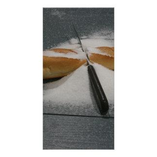 Bread and Salt Customized Photo Card