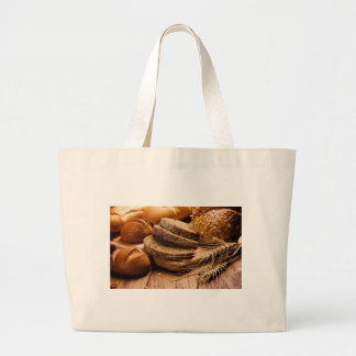 Bread and Wheat Canvas Bags