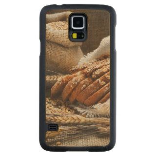 Bread And Wheat Ears Carved Maple Galaxy S5 Case