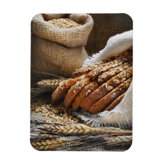 Bread And Wheat Ears Magnet