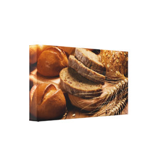 Bread and Wheat Gallery Wrap Canvas