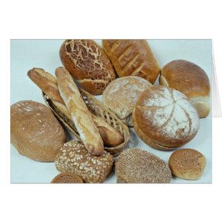Bread assortment card