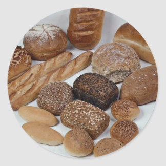 Bread assortment stickers