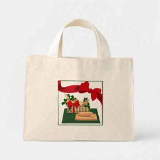 Bread Basket Christmas Tote Bag Gift Wrap