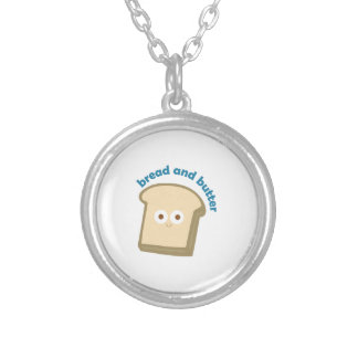 bread bread and butter necklace