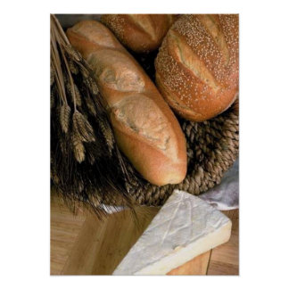Bread Cheese Posters