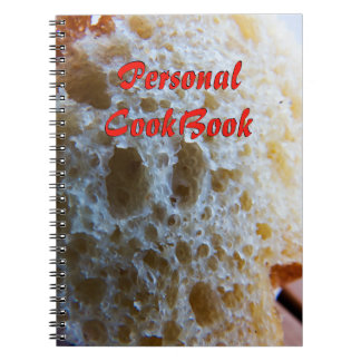 Bread Cookbook Notebooks