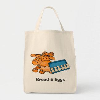 Bread & Eggs (Fragile) Grocery/Market Bag