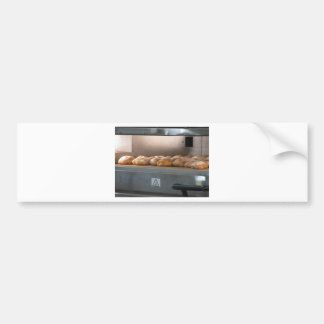 Bread freshly made into the oven bumper sticker