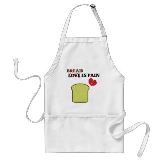 Bread Is Pain Adult Apron