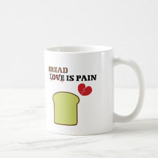 Bread Is Pain Classic White Coffee Mug
