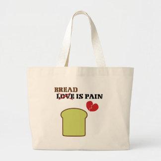 Bread Is Pain Jumbo Tote Bag