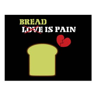 Bread Is Pain Postcard