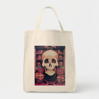 bread lady? grocery tote bag