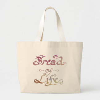 Bread of Life - Redeemed by Love Large Tote Bag