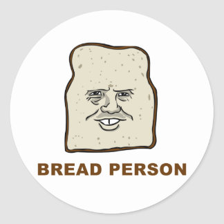 Bread Person Stickers