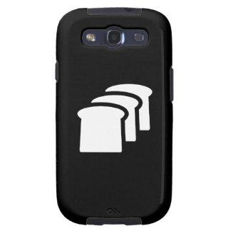 Bread Pictogram Samsung Galaxy S3 Case