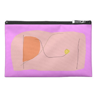 Bread Pink Travel Accessories Bag