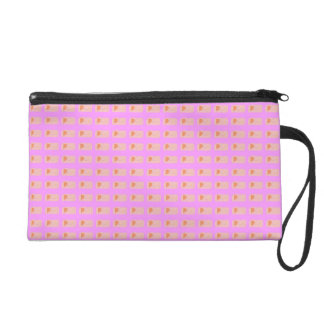 Bread Pink Wristlet Clutches
