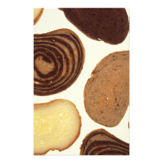 Bread products stationery paper
