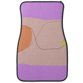 Bread Purple Pink Car Mat