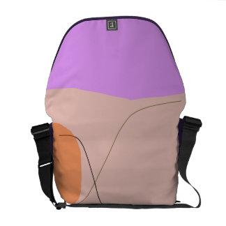 Bread Purple Pink Messenger Bag