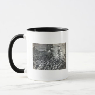 Bread Riot at the entrance to the House Mug
