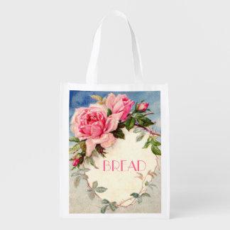 bread shopping bag,bakery shopping bag market tote