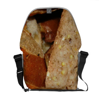 Bread Slices Messenger Bags