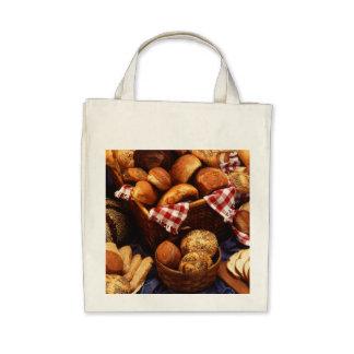 Bread still life tote bag