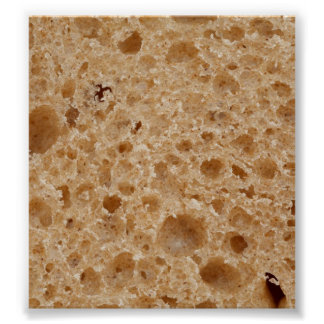 Bread Texture Print