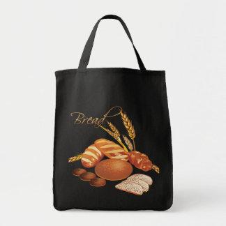 Bread Tote Canvas Bags