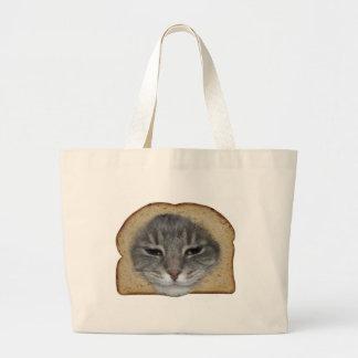 Breaded Cat Tote Bags