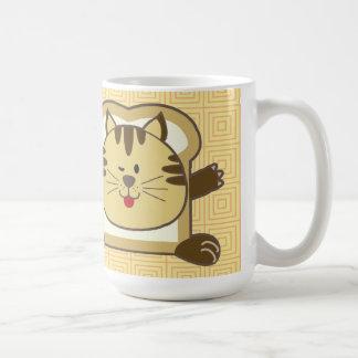 Breading Cat Yellow Mug