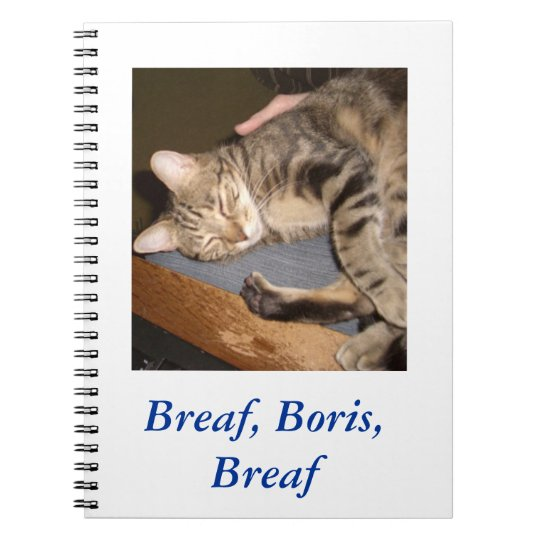 Breaf, Boris, Breaf notebook