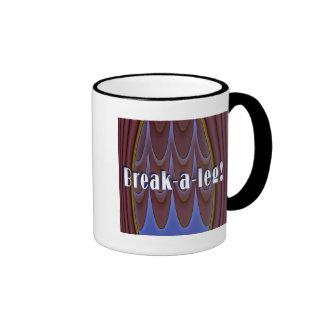 Break-a-leg! Ringer Mug
