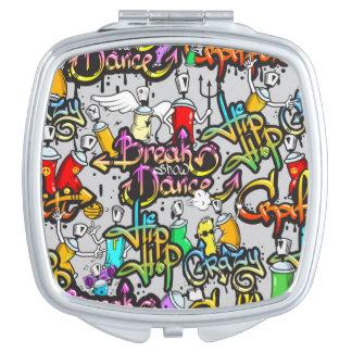 Break Dance Compact Compact Mirror