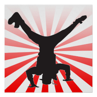 break dance explosion poster